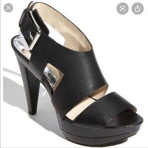 Black Michael Kors Carla heel